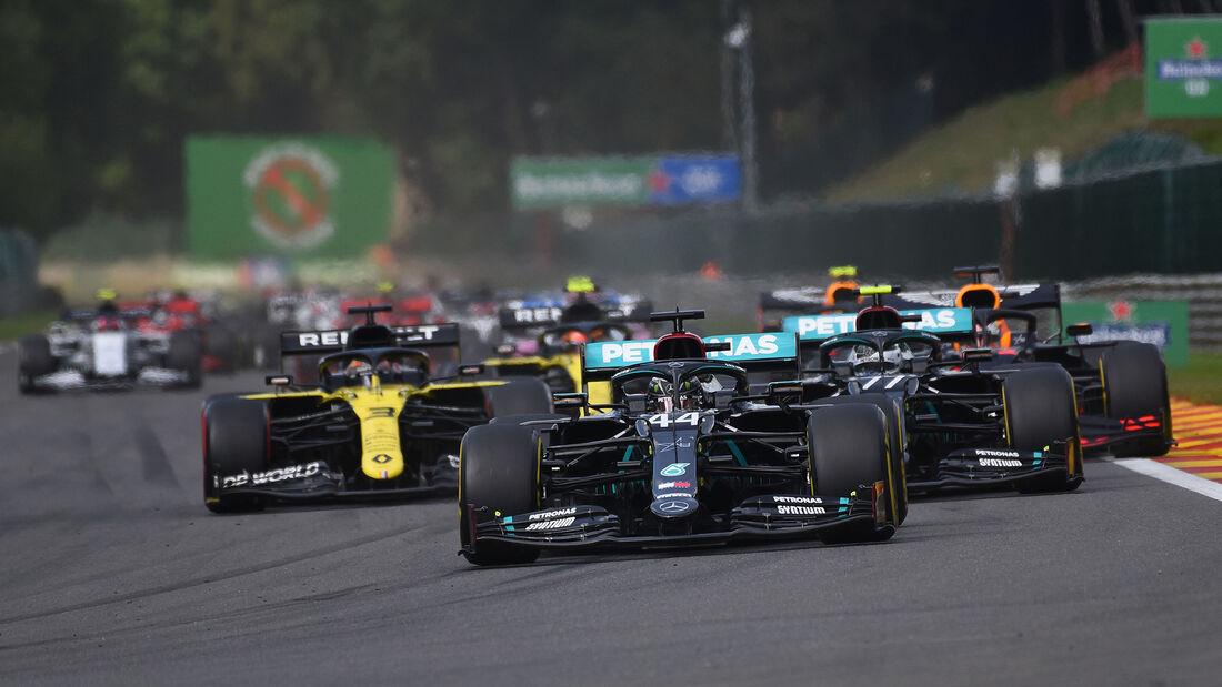 Lewis Hamilton - Mercedes - GP Belgien 2020 - Spa-Francorchamps