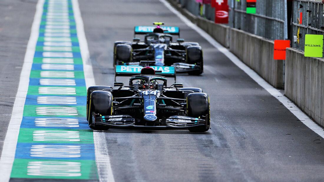 Lewis Hamilton - Mercedes - GP Belgien - Spa-Francorchamps - 29. August 2020