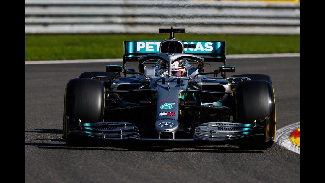 Lewis Hamilton - Mercedes - GP Belgien - Spa-Francorchamps - Formel 1 - Freitag - 30.08.2019