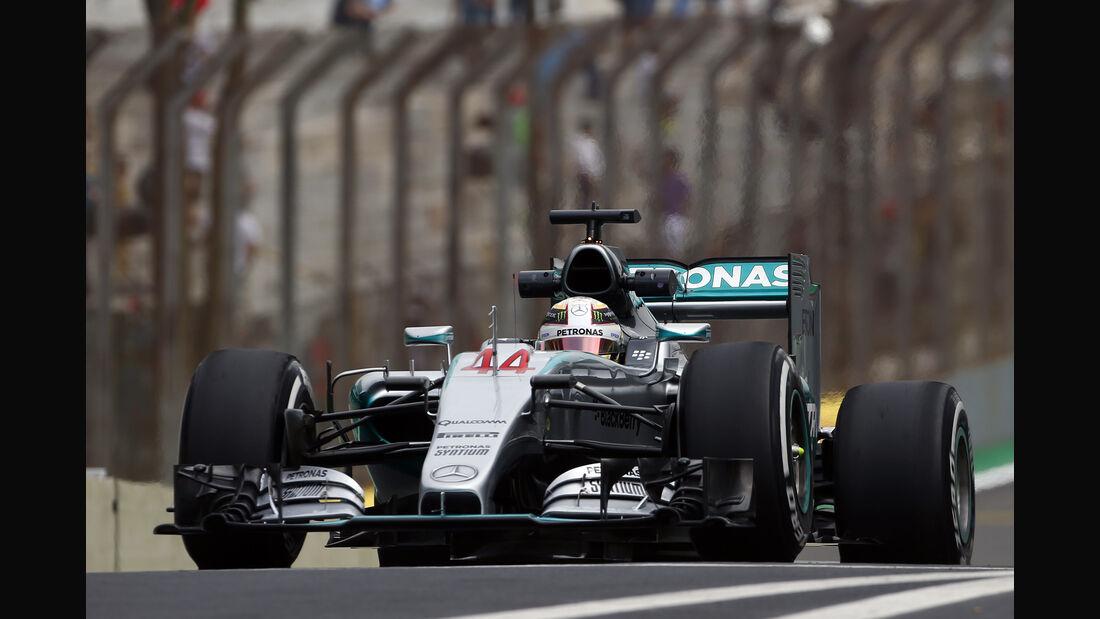 Lewis Hamilton - Mercedes - GP Brasilien 2015