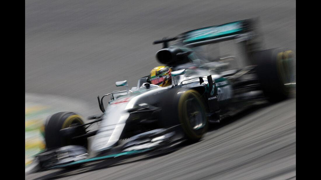 Lewis Hamilton - Mercedes - GP Brasilien 2016 - Interlagos - Freitag - 11.11.2016