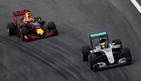 Lewis Hamilton - Mercedes - GP Brasilien 2016 - Interlagos - Qualifying