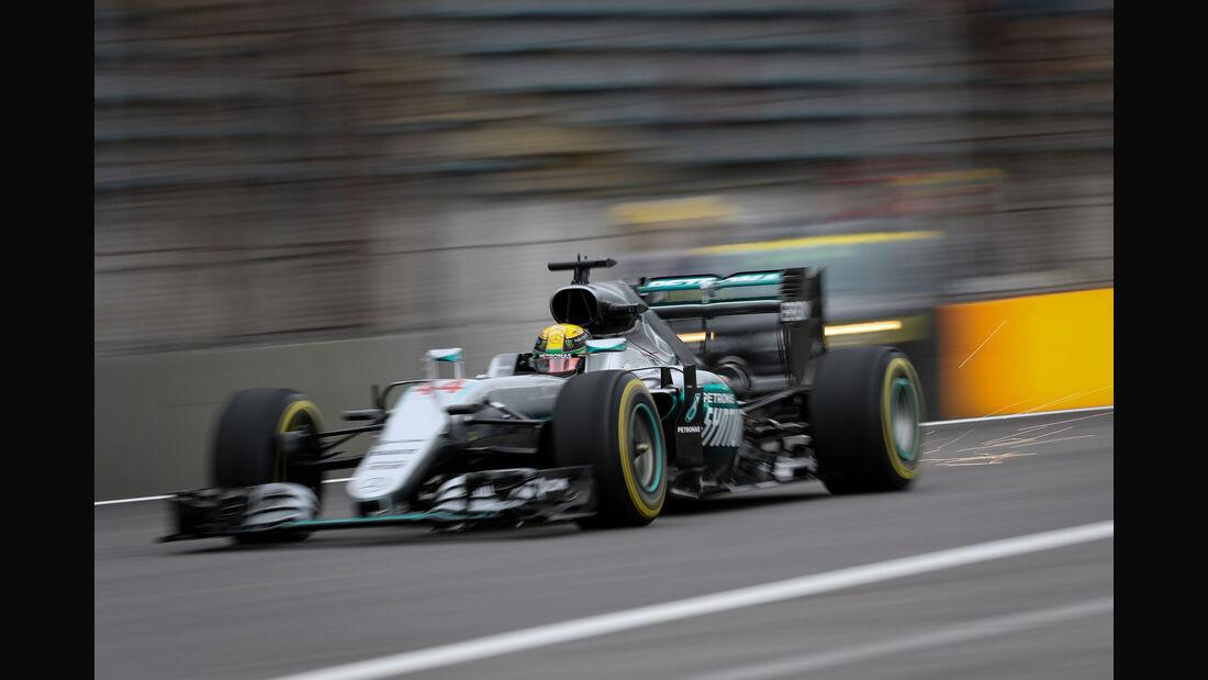Lewis Hamilton - Mercedes - GP Brasilien 2016 - Interlagos