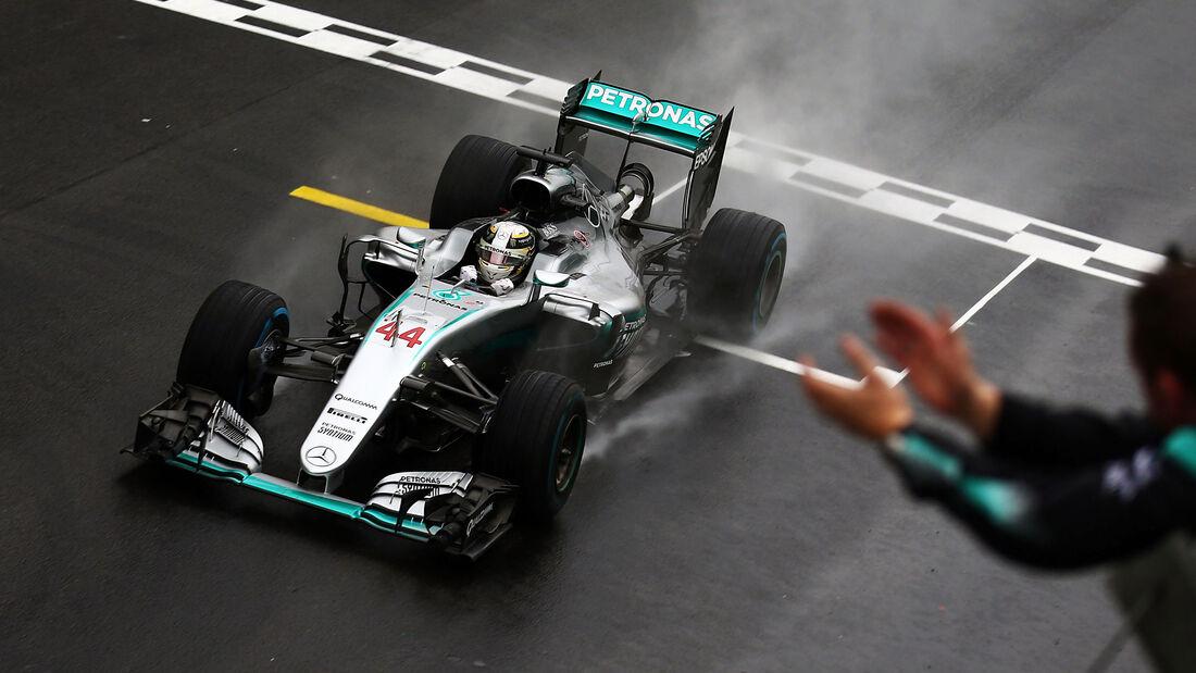 Lewis Hamilton - Mercedes - GP Brasilien 2016 - Rennen