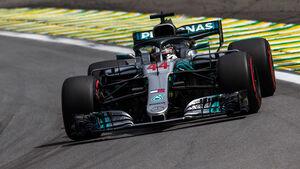 Lewis Hamilton - Mercedes - GP Brasilien 2018 - Qualifying