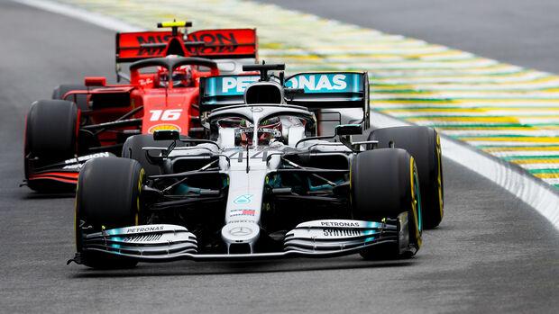 Lewis Hamilton - Mercedes - GP Brasilien 2019