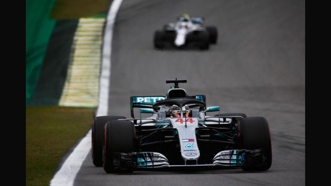 Lewis Hamilton - Mercedes - GP Brasilien - Interlagos - Formel 1 - Samstag - 10.11.2018