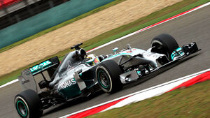 Lewis Hamilton - Mercedes - GP China 2014