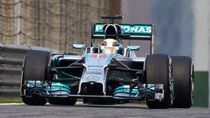 Lewis Hamilton - Mercedes - GP China 2014