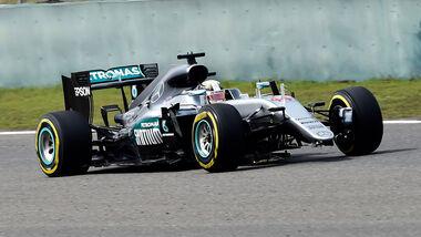 Lewis Hamilton - Mercedes - GP China  2016 - Rennen