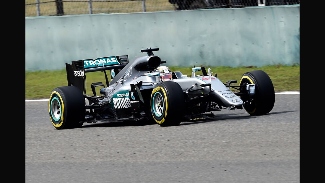 Lewis Hamilton - Mercedes - GP China  2016 - Rennen