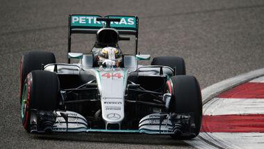 Lewis Hamilton - Mercedes - GP China 2016 - Shanghai - Qualifying - 16.4.2016