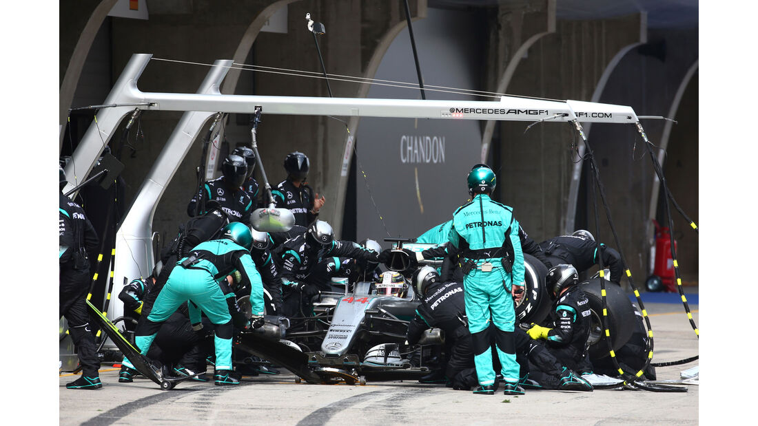 Lewis Hamilton - Mercedes - GP China 2016 - Shanghai - Rennen