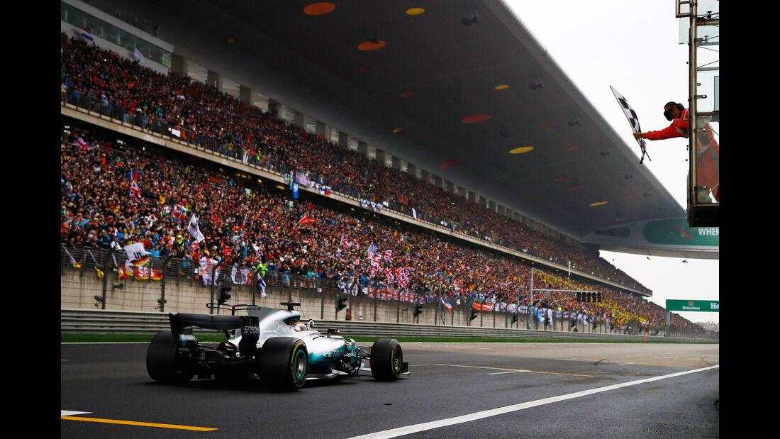 Lewis Hamilton - Mercedes - GP China 2017 - Shanghai - Rennen