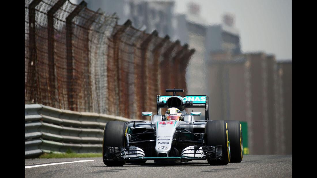 Lewis Hamilton - Mercedes - GP China - Shanghai - Freitag - 15.4.2016
