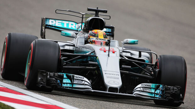 Lewis Hamilton - Mercedes - GP China - Shanghai - Samstag - 8.4.2017