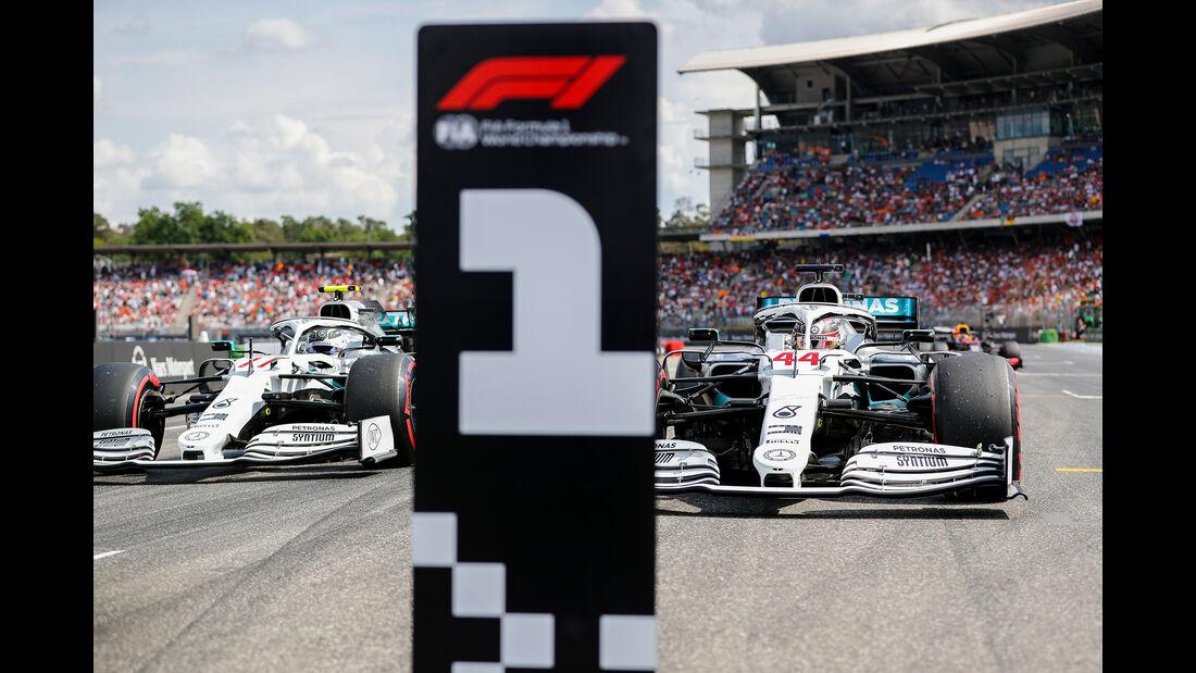 Lewis Hamilton - Mercedes - GP Deutschland 2019 - Hockenheim - Qualifying