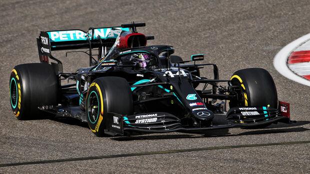 Lewis Hamilton - Mercedes - GP Eifel - Nürburgring - Samstag - 10.10.2020