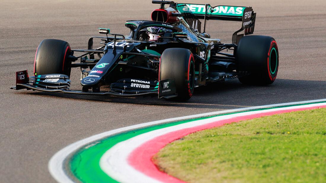 Lewis Hamilton - Mercedes - GP Emilia Romagna 2020 - Imola
