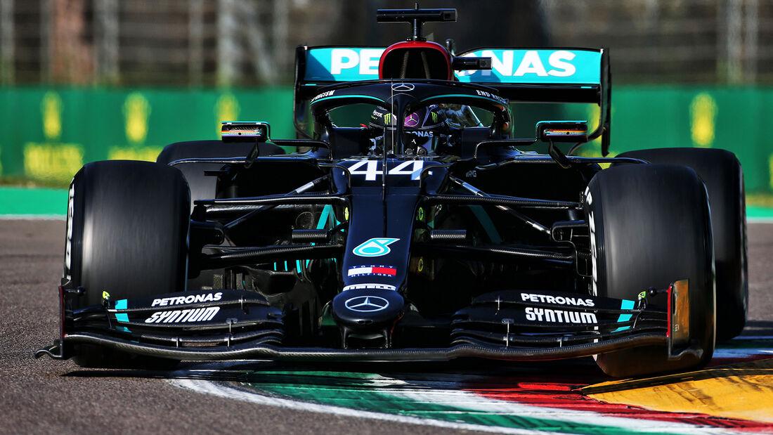 Lewis Hamilton - Mercedes - GP Emilia-Romagna 2020 - Imola