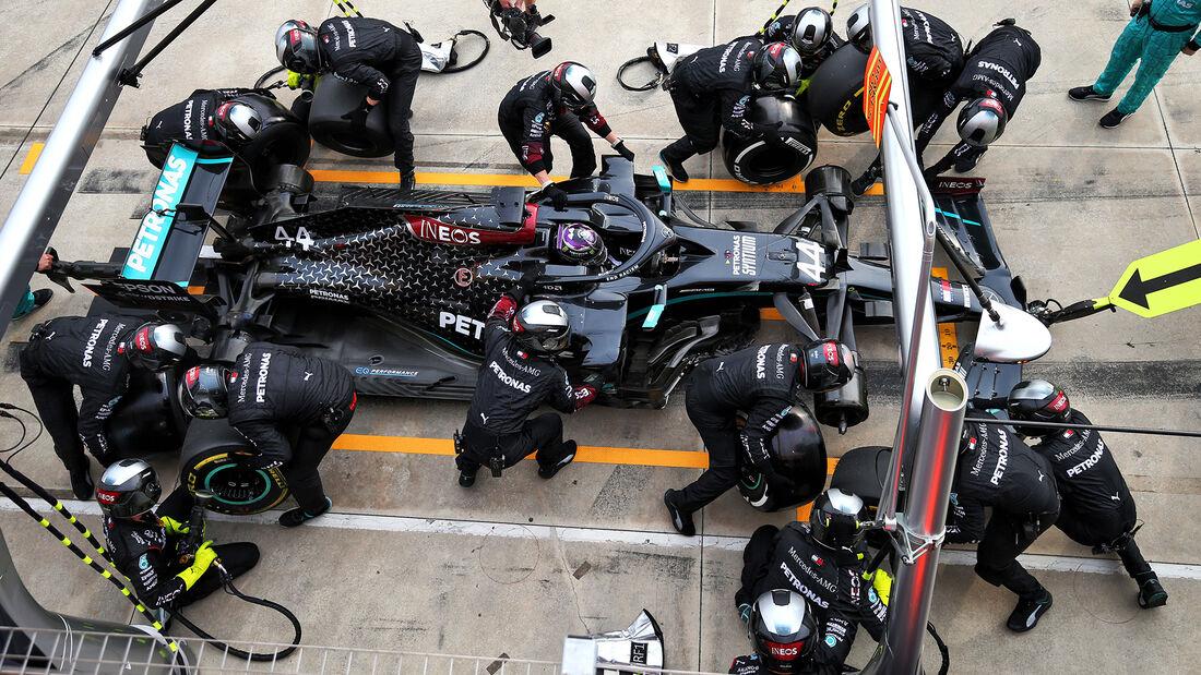 Lewis Hamilton - Mercedes - GP Emilia-Romagna 2020 - Imola - Rennen