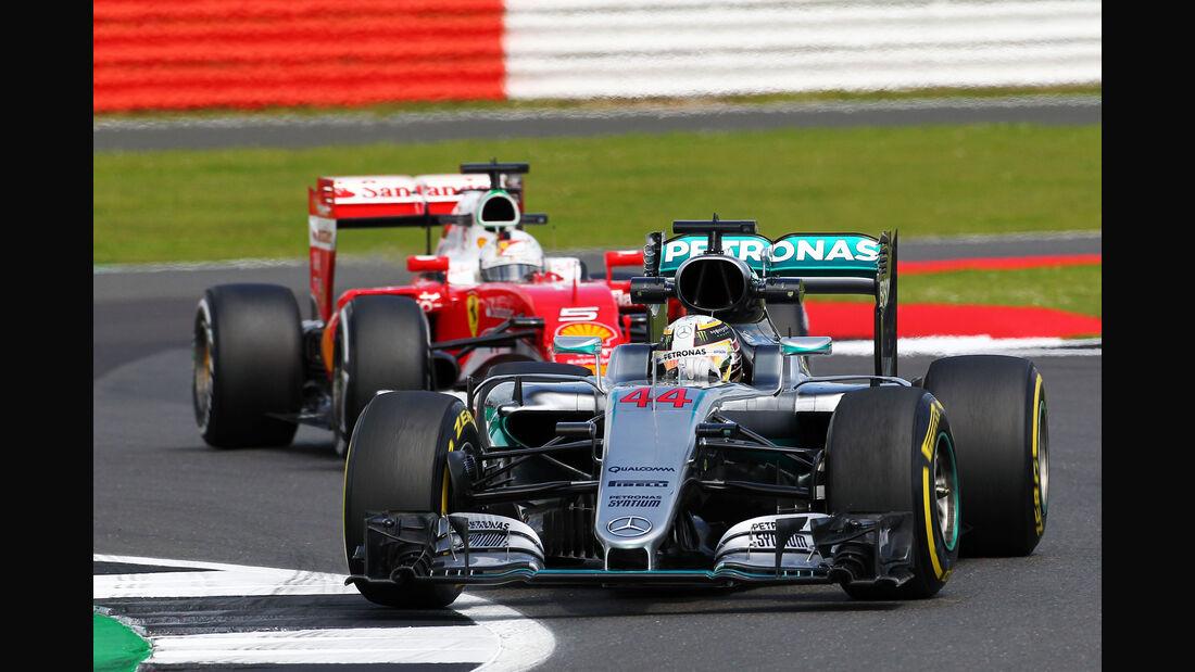 Lewis Hamilton - Mercedes - GP England 2016 - Freitag