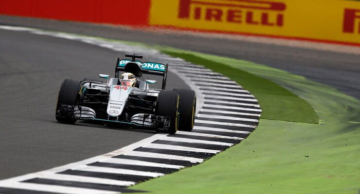 Lewis Hamilton - Mercedes - GP England 2016 - Silverstone