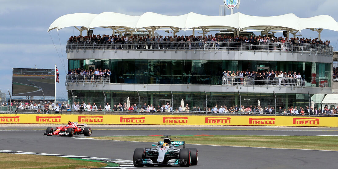 Lewis Hamilton - Mercedes - GP England 2017 - Silverstone