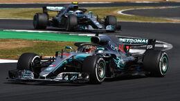 Lewis Hamilton - Mercedes - GP England 2018 - Silverstone - Rennen