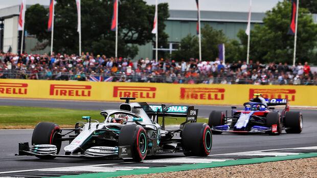 Lewis Hamilton - Mercedes - GP England 2019