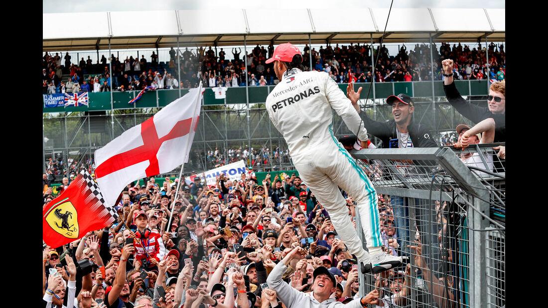 Lewis Hamilton - Mercedes - GP England 2019 - Silverstone - Rennen