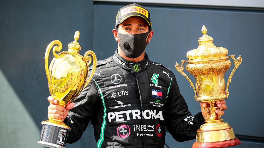 Lewis Hamilton - Mercedes - GP England 2020 - Silverstone