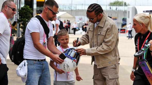 Lewis Hamilton - Mercedes - GP England - Silverstone - Donnerstag - 11.07.2019
