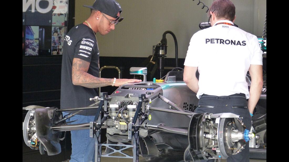 Lewis Hamilton - Mercedes - GP England - Silverstone - Donnerstag - 2.7.2015