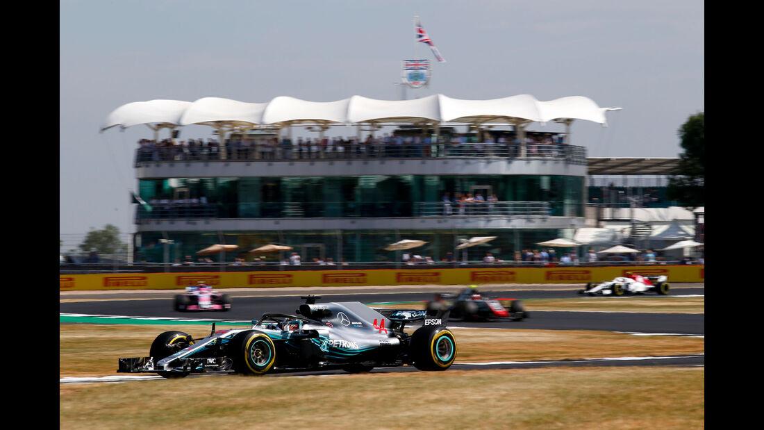 Lewis Hamilton - Mercedes - GP England - Silverstone - Formel 1 - Freitag - 6.7.2018