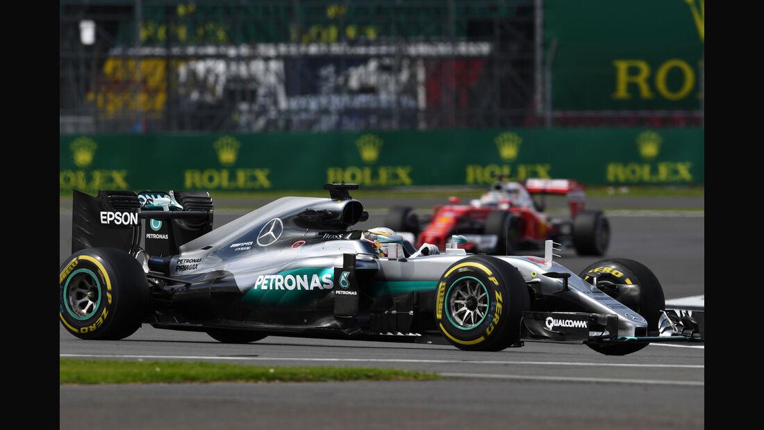 Lewis Hamilton - Mercedes - GP England - Silverstone - Formel 1 - Freitag - 8.7.2016