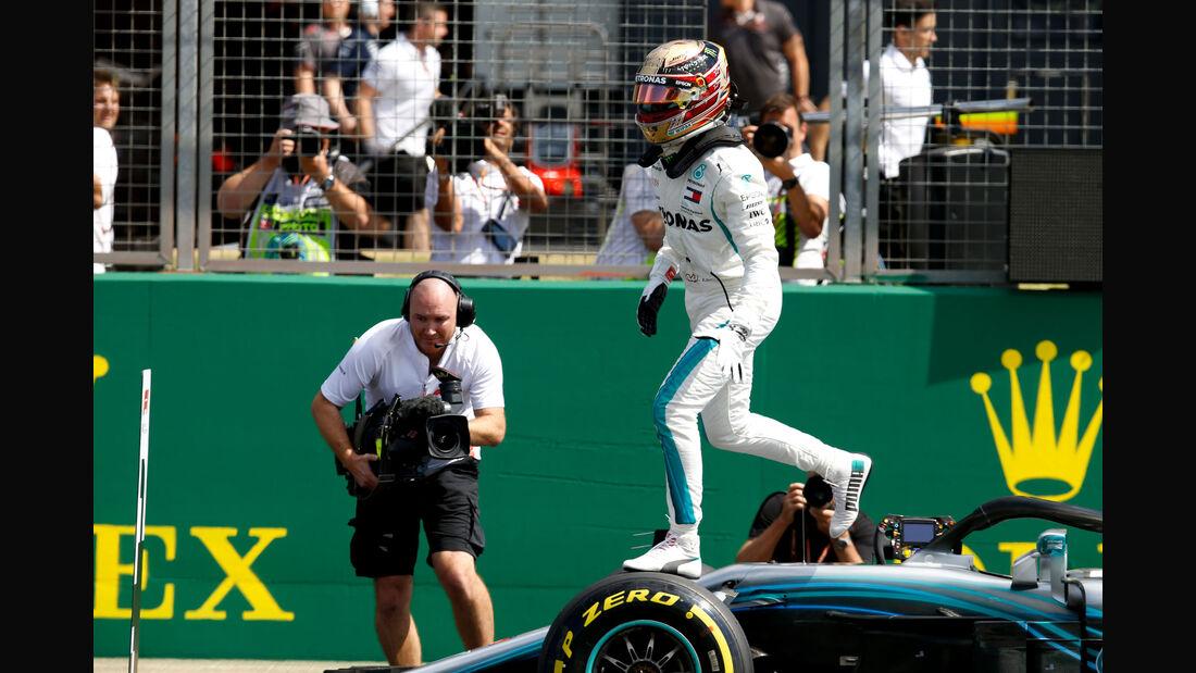 Lewis Hamilton - Mercedes - GP England - Silverstone - Formel 1 - Samstag - 7.7.2018