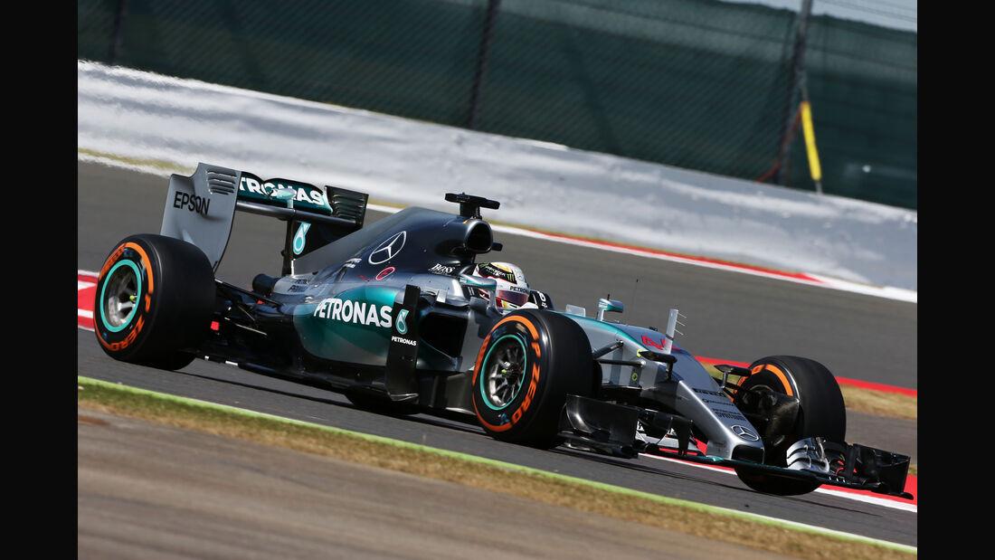 Lewis Hamilton - Mercedes - GP England - Silverstone - Freitag - 3.7.2015