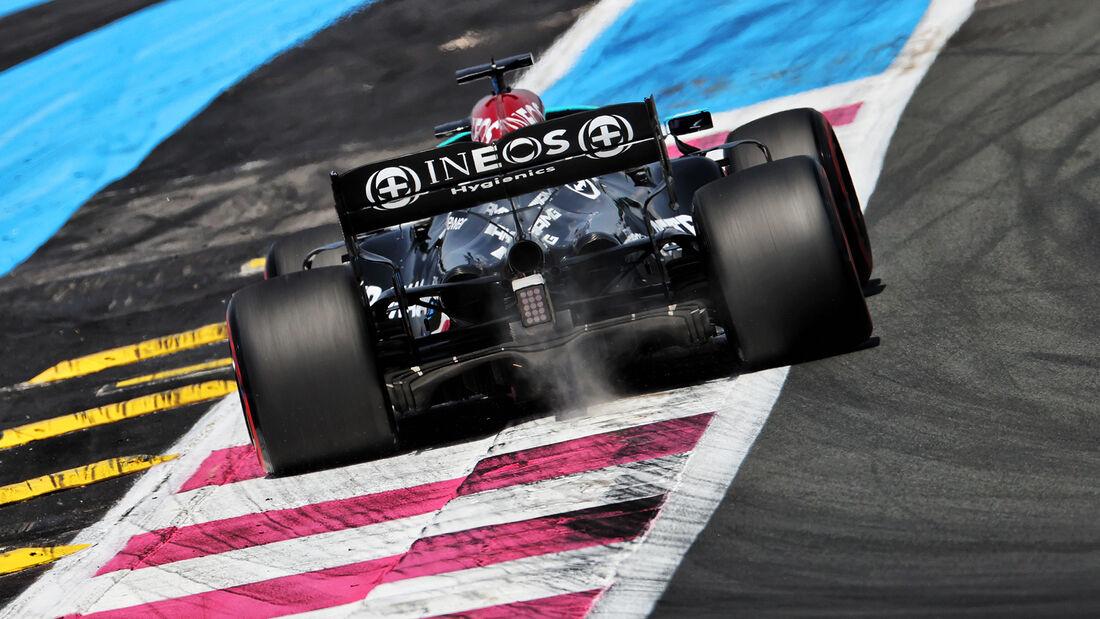 Lewis Hamilton - Mercedes - GP Frankreich - Le Castellet - Paul Ricard Circuit - 18. Juni 2021