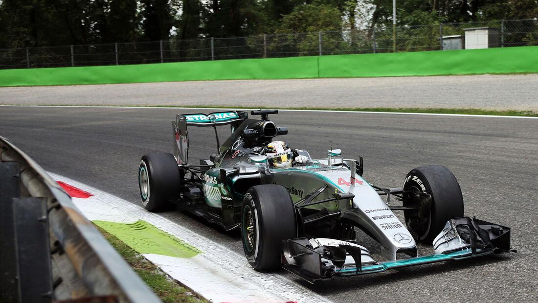 Lewis Hamilton - Mercedes. GP Italien 2015 - Monza - Samstag - 5.9.2015