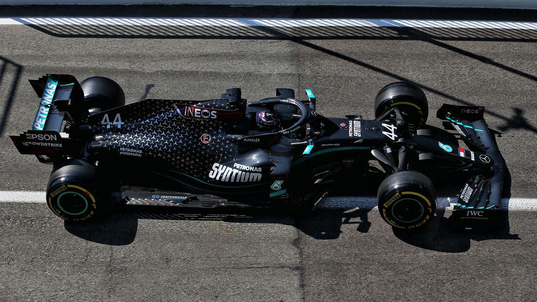 Lewis Hamilton - Mercedes - GP Italien 2020 - Monza