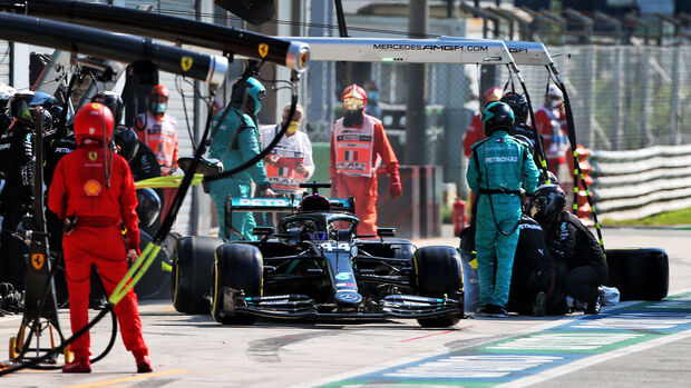 Lewis Hamilton - Mercedes - GP Italien 2020 - Monza - Rennen