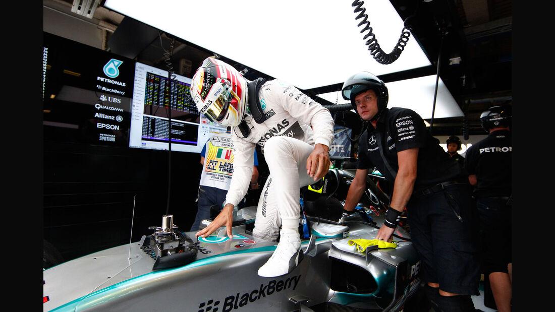 Lewis Hamilton - Mercedes - GP Italien - Monza - Freitag - 4.9.2015