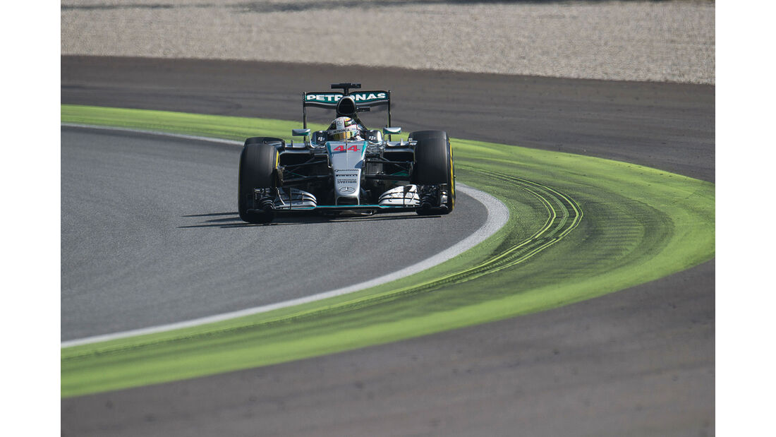 Lewis Hamilton - Mercedes - GP Italien - Monza - Qualifying - 5.9.2015