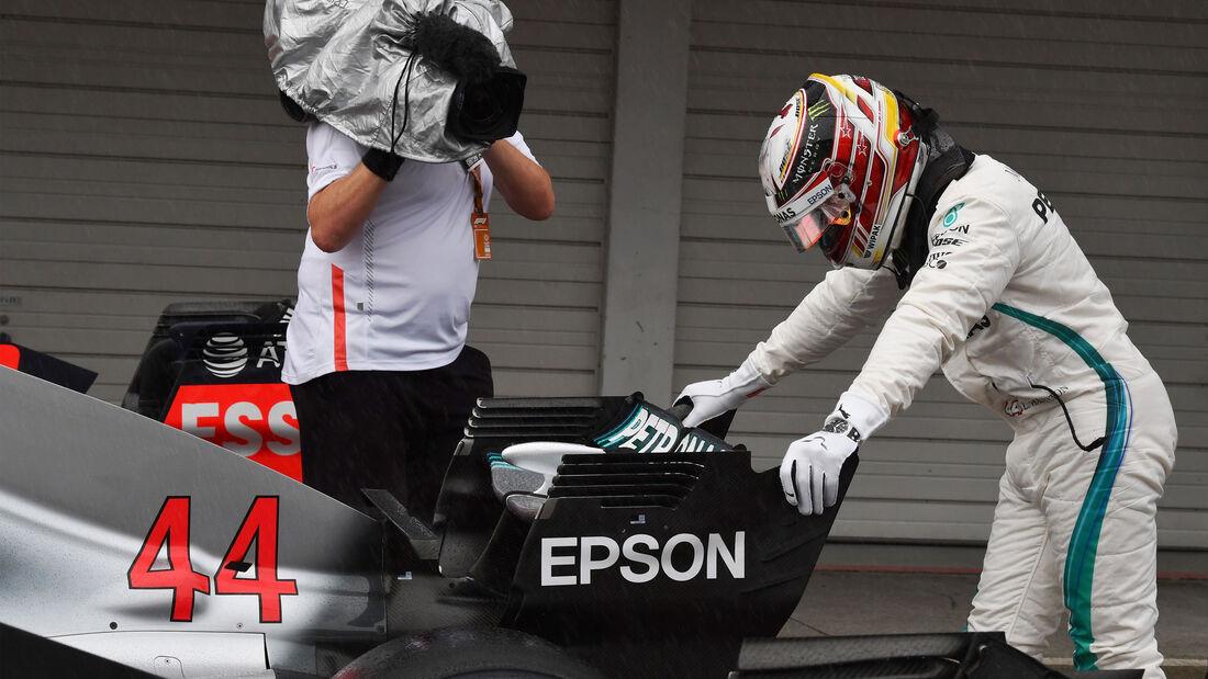 Lewis Hamilton - Mercedes - GP Japan 2018 - Suzuka - Qualifying