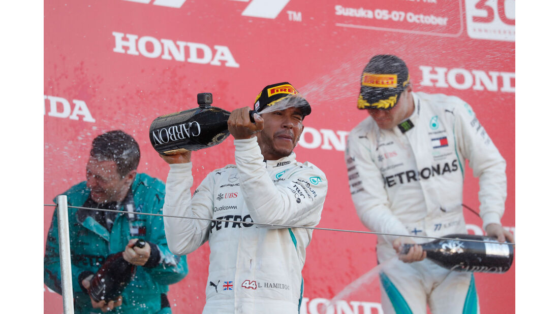 Lewis Hamilton - Mercedes - GP Japan 2018 - Suzuka - Rennen