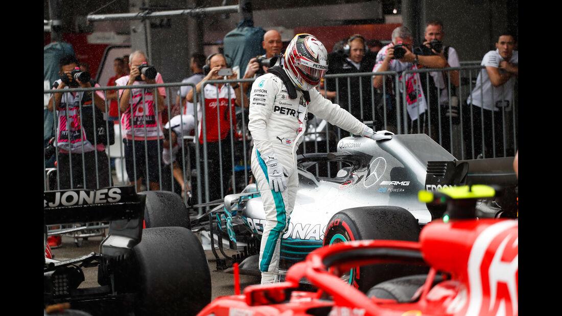 Lewis Hamilton - Mercedes - GP Japan - Suzuka - Formel 1 - Samstag - 6.10.2018