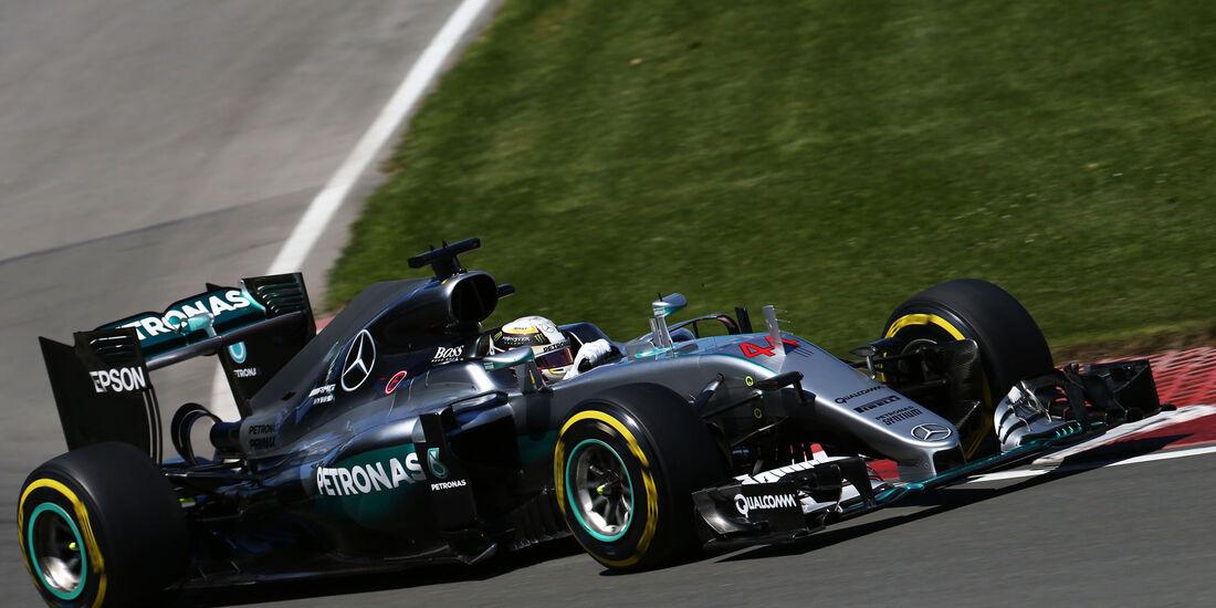 Lewis Hamilton - Mercedes - GP Kanada - Montreal - Freitag - 10.6.2016