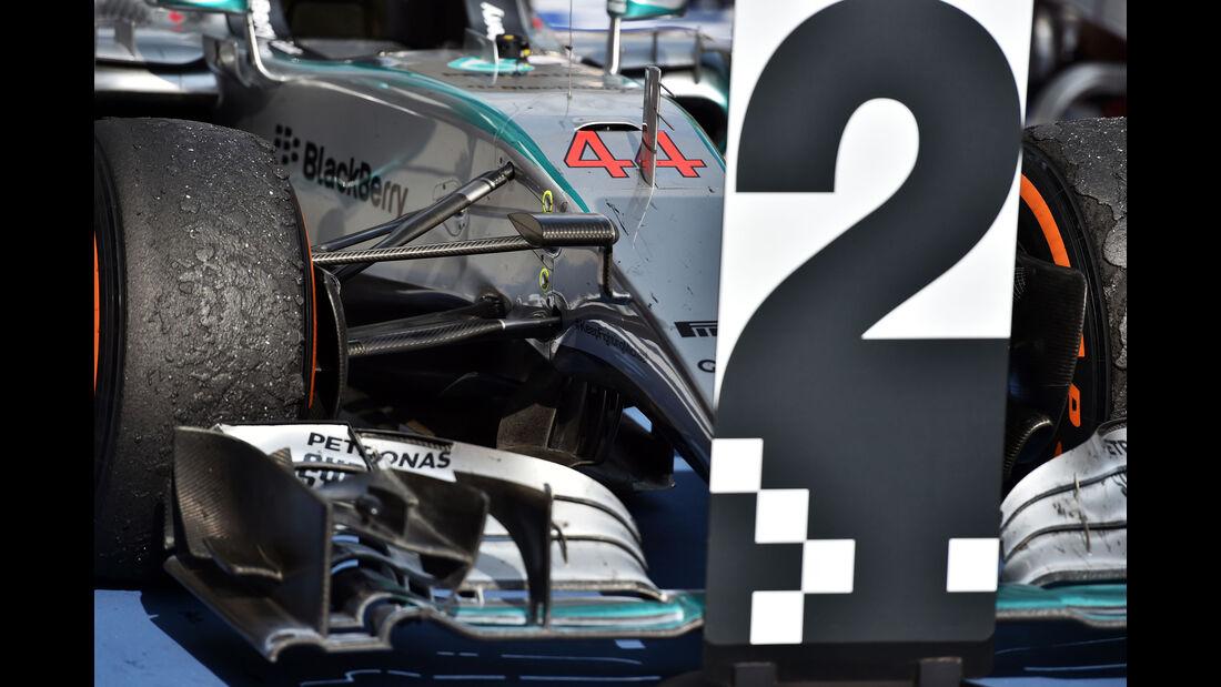 Lewis Hamilton - Mercedes - GP Malaysia 2015