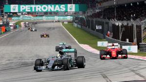Lewis Hamilton - Mercedes - GP Malaysia 2015 - Formel 1